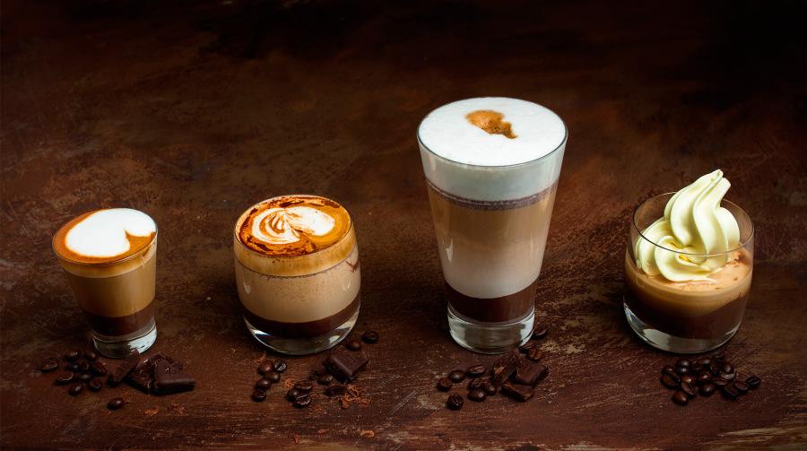Čokoládová káva se zmrzlinou